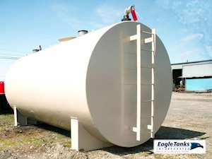 Eagle Tanks 6,000 Gallon Double Wall Horizontal UL 142 Fuel Tank