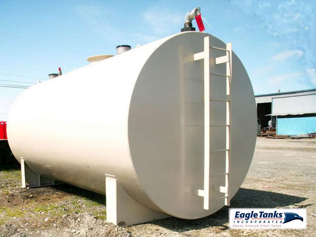 Eagle Tanks 6 000 Gallon Double Wall Horizontal Ul 142