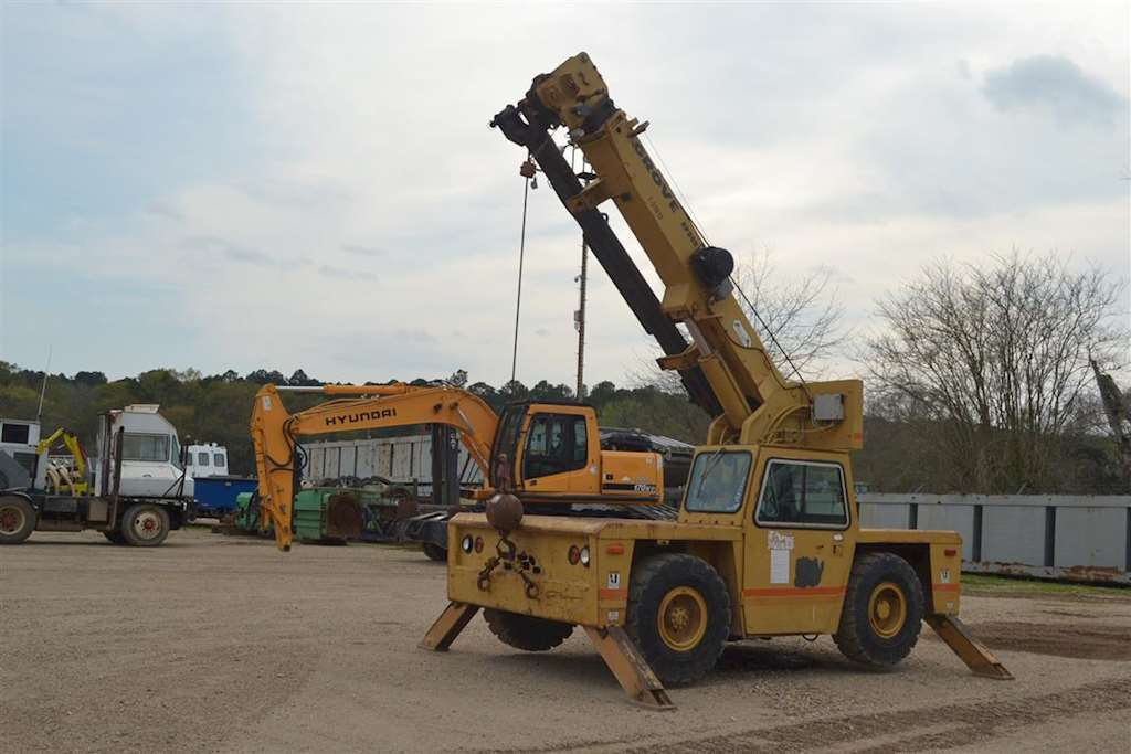 Grove Ap308 Crane For Sale 3 395 Hours Livingston La