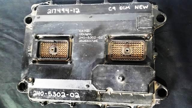 Caterpillar C9 ACERT Diesel Engine 70-PIN ECM / ECU / Computer OEM Part#  240-5302-02 New Part Includes Warranty For Sale | Rockwood, TN |  240-5302-02