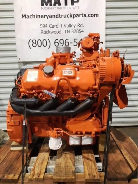 1988 Detroit For Gm 82l Turbo Diesel Engine V8 82t 225hp Mechanical Fuel Pump Runs Perfect Gradall Industrial Equipment Motor For Sale Rockwood