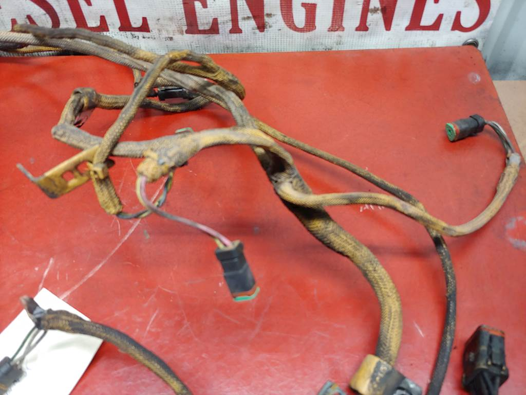 2003 Caterpillar C10 70 Pin Engine To Ecm Wire Harness Oem