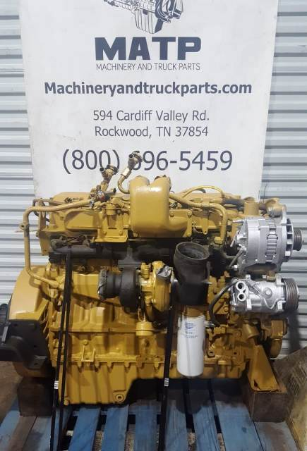 1997 Caterpillar 3126 Diesel Engine 40 Pin 1WM Serial Cat Reman AR 139 9859 Turbocharged Runs Great For Sale Rockwood TN Caterpillar 40 Pin