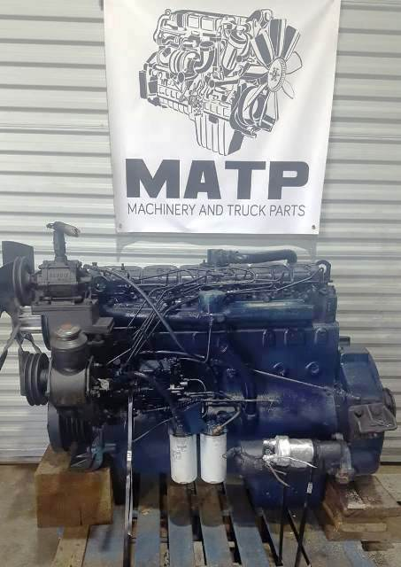 1979 International DT466 Diesel Engine Model DTB180 Mechanical Fuel Pump  Turbocharged Inline 6-Cyl Runs Perfect