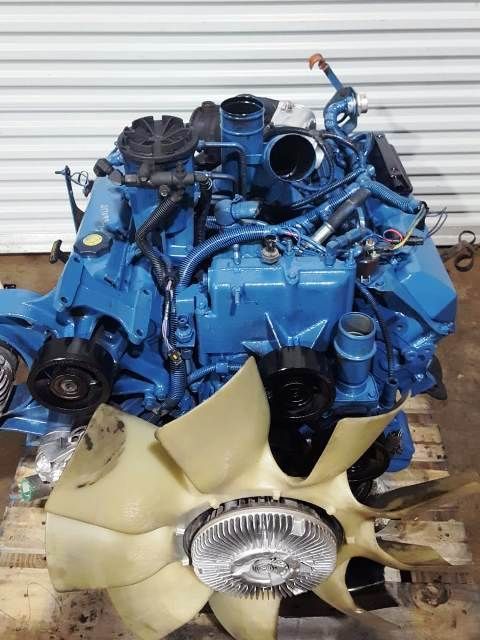 1996 International T444E Diesel Engine Complete 7 3L Turbo Model A190F Fire  Wall Mounted ECM Runs Perfect
