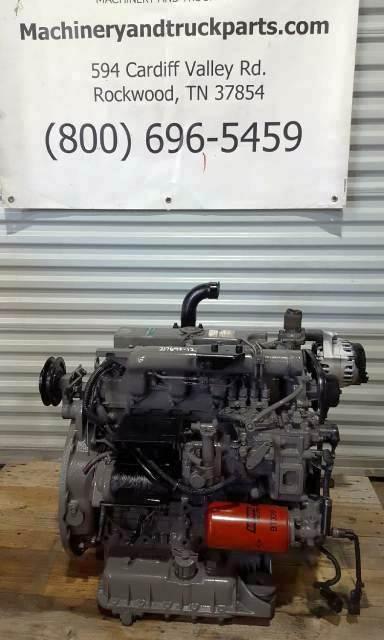 2005 Kubota V2203-DI-E43 Diesel Engine 2 2L Family# 3KBXL02 2ECD Mechanical  Fuel Pump Runs Great Fits Carrier or Bobcat For Sale | Rockwood, TN | 2005