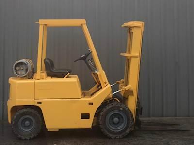 Clark C500-45 Pneumatic Tire Forklift 5000lb Lift Capacity