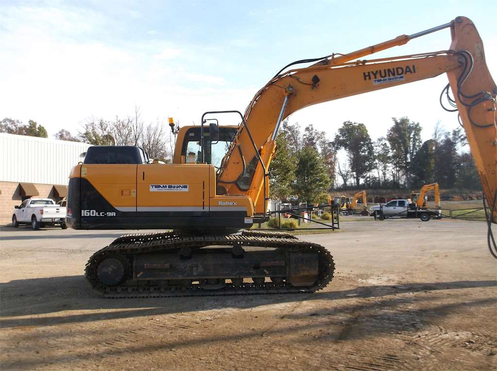 Used Trucks For Sale In Ky >> 2014 Hyundai ROBEX 160 LC-9A Crawler Excavator For Sale, 1,124 Hours | Bardstown, KY | 1012 ...