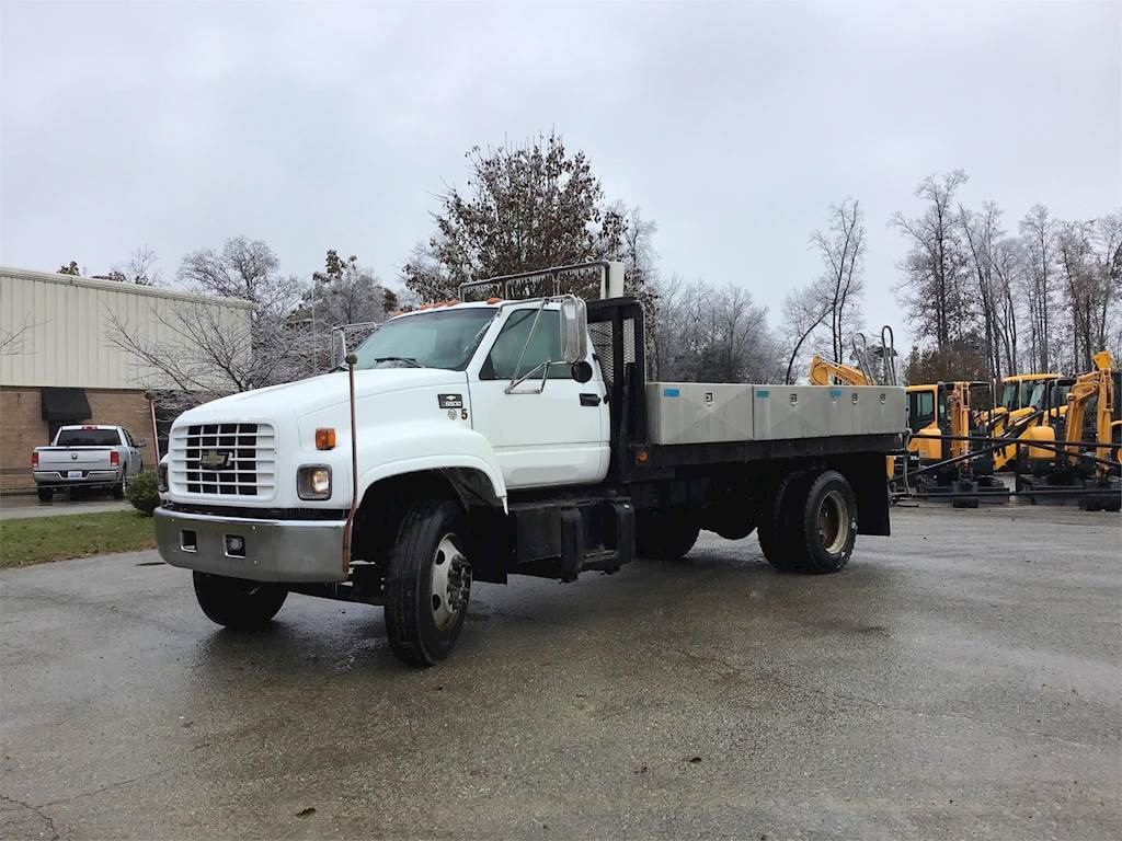 Chevrolet Dealers In Ky >> 1999 Chevrolet Kodiak C6500 Flatbed Truck, Automatic For ...