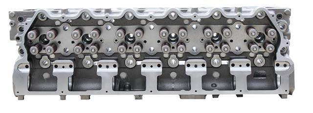 Caterpillar C15 ACERT Cylinder Head- BRAND NEW complete with valves,  springs, etc installed for SDP, MXS,NXS, BXS For Sale | Houston, TX |  9429988 |