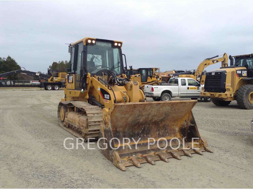 2015 Caterpillar 953d Crawler Loader For Sale 764 Hours