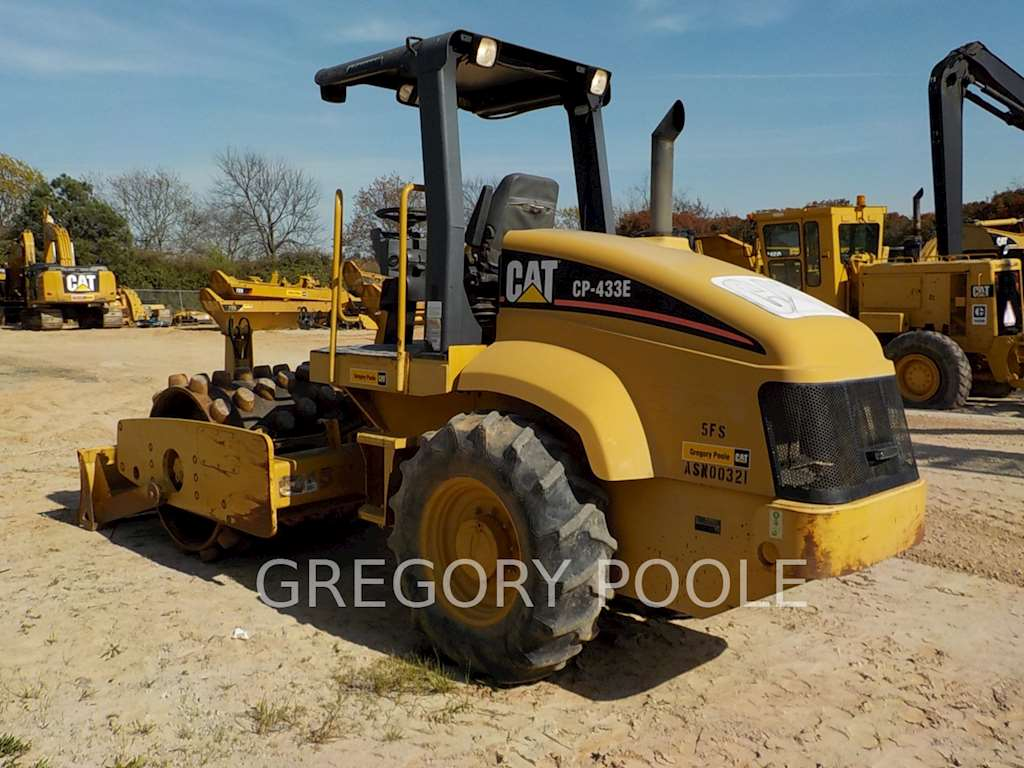 Commercial Compactor Wheel : Caterpillar cp e padfoot compactor for sale