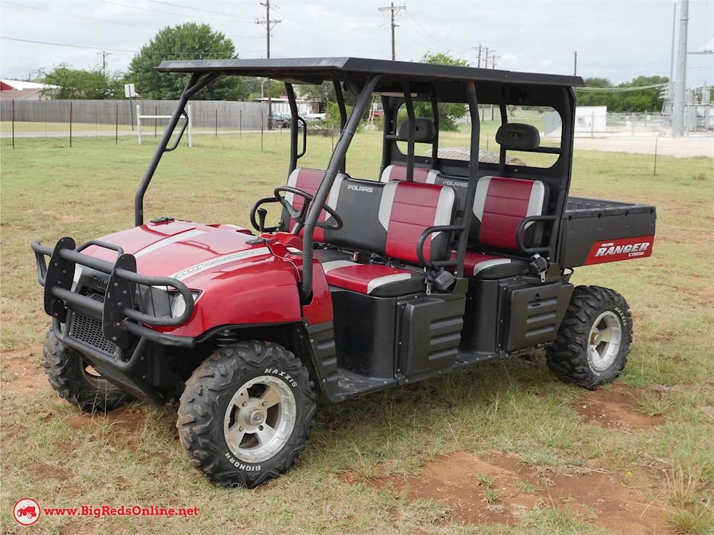 2009 Polaris Ranger Crew 700 Efi Utility Vehicle For Sale