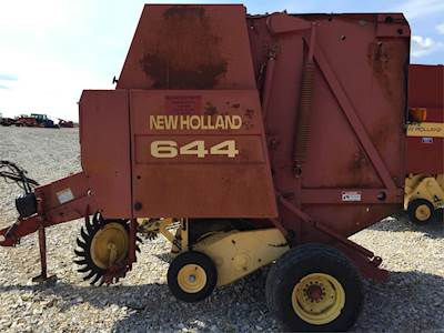 Tractor Manuals & Publications Other Tractor Publications New Holland Round Baler 644 Parts Manual