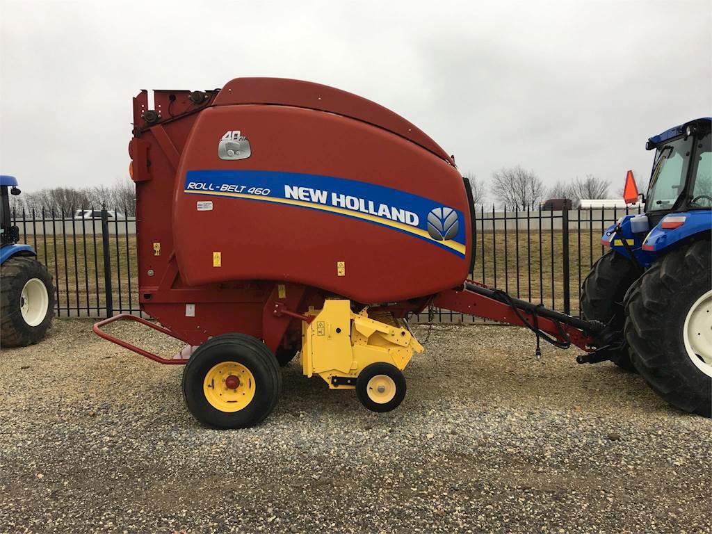 New Holland ROLL-BELT 460 Round Baler For Sale | Fayetteville, AR | NB3349  | MyLittleSalesman com