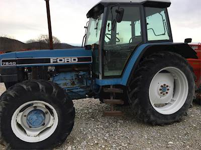 1992 Ford 7840 Tractor
