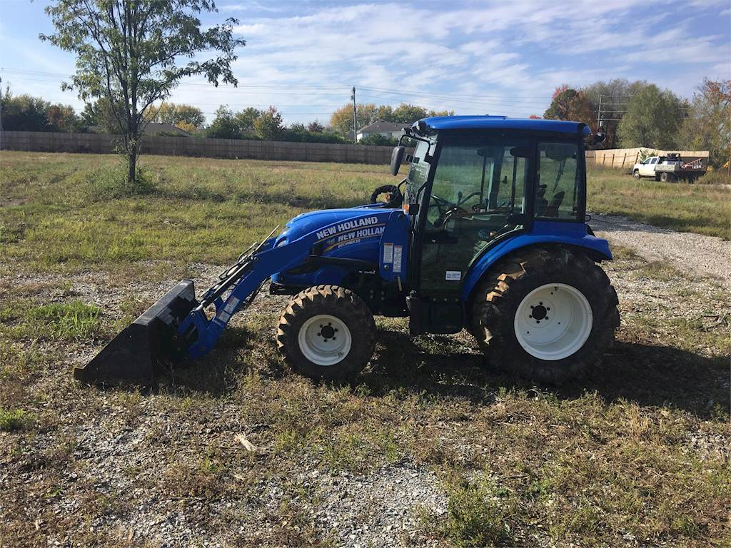 2017 New Holland BOOMER 55 Tractor For Sale, 96 Hours | Fayetteville, AR |  UT6346 | MyLittleSalesman com