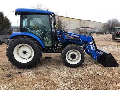 2019 New Holland WORKMASTER 70 Tractor For Sale, 2 Hours
