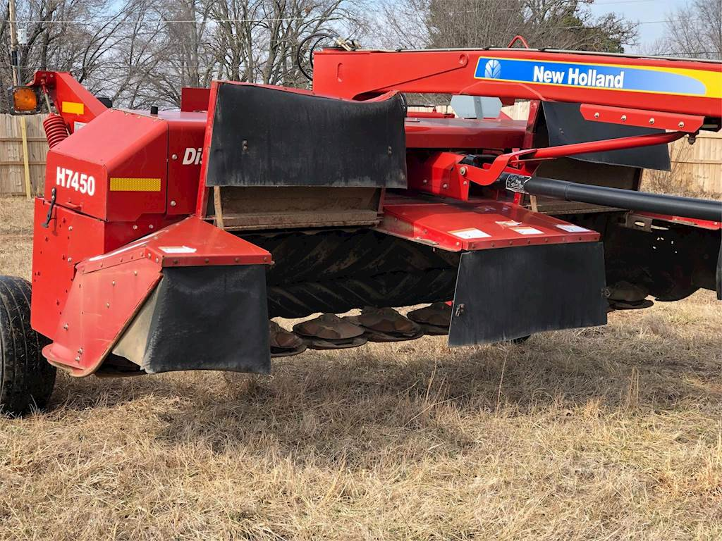 2011 New Holland H7450 Windrower For Sale | Fayetteville, AR | HA0922 |  MyLittleSalesman com