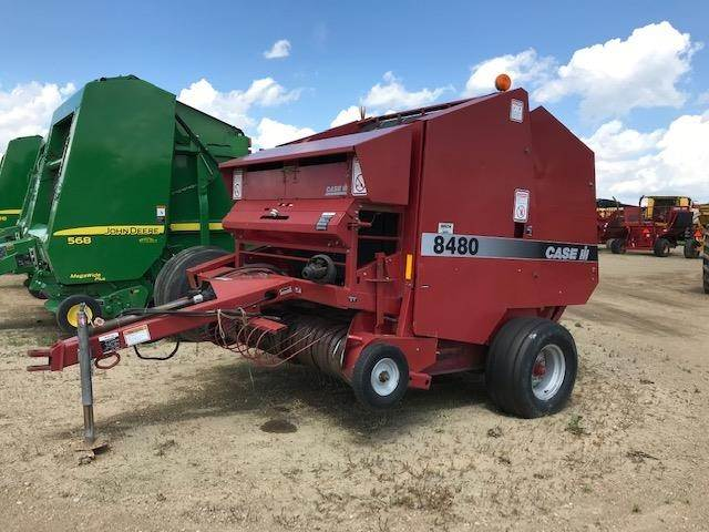 1999 Case IH 8480 Round Baler For Sale   Brookings, SD   000369