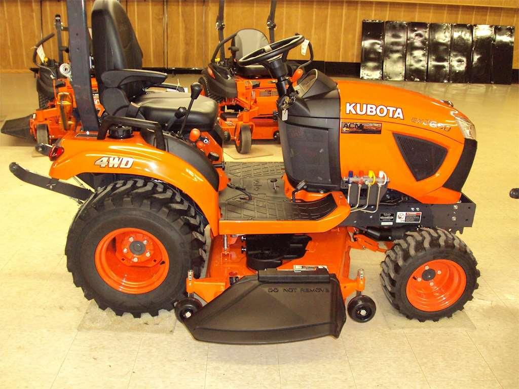 Kubota Tractor Tires R4 : Kubota bx tractor for sale wataga il ku