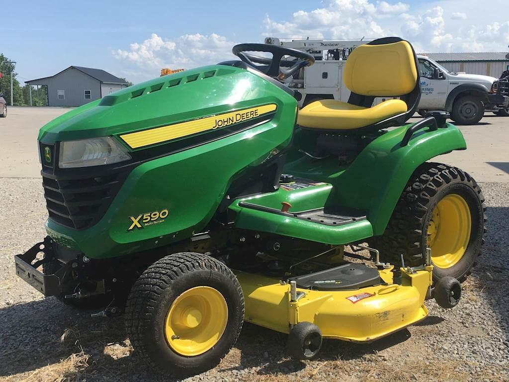 John Deere Lawn Mowers For Sale >> 2015 John Deere X590 Riding Lawn Mower For Sale 156 Hours