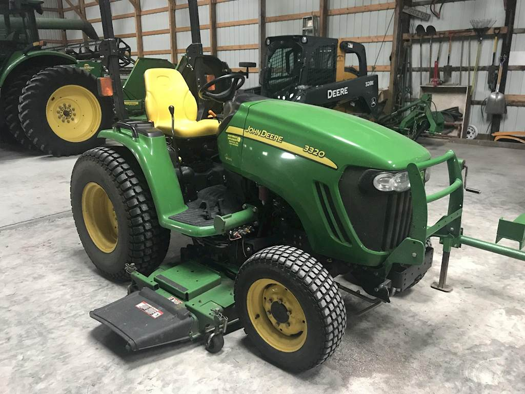 Prächtig 2009 John Deere 3320 Tractor For Sale, 825 Hours | Maryville, MO &FZ_25