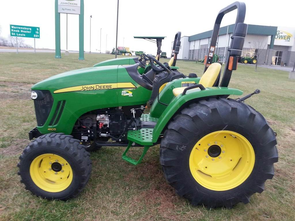 John Deere 4105 : John deere tractor for sale hours