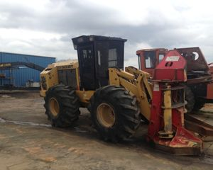Cat 553 Feller Buncher