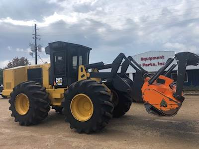 2015 Caterpillar 563C Forestry Mulcher with FAE