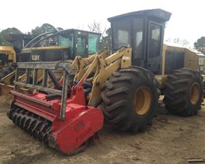 Caterpillar 553 Mulchers (forestry)
