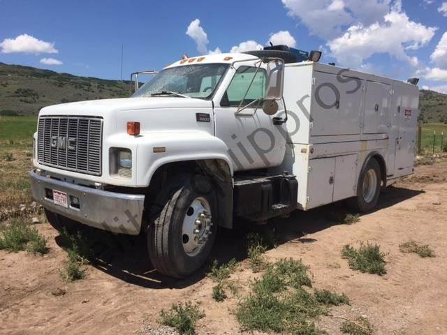 1997 Gmc Topkick C6500 Fuel Lube Truck For Sale 225 266