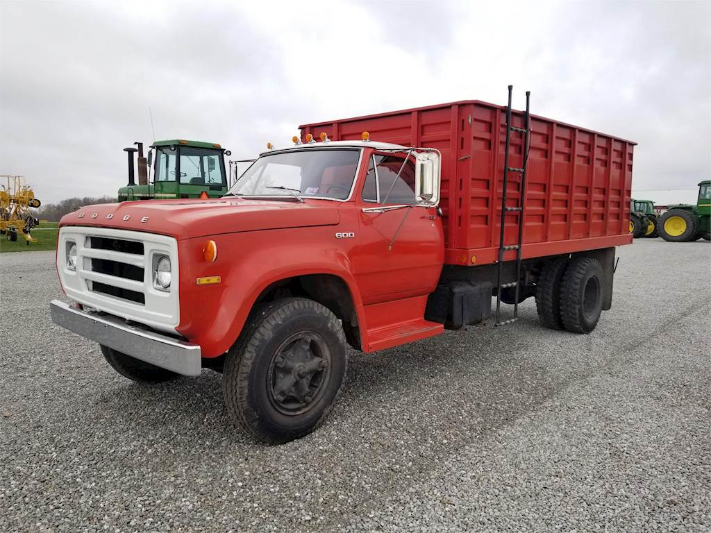 Grain Trucks For Sale >> 1975 Dodge D600 Single Axle Farm Grain Truck For Sale Wilkinson In 9856599 Mylittlesalesman Com