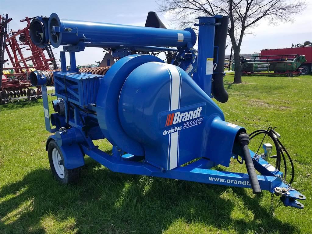 Brandt 5000EX Grain Vac For Sale, 300 Hours | Wilkinson, IN | 4999 |  MyLittleSalesman com
