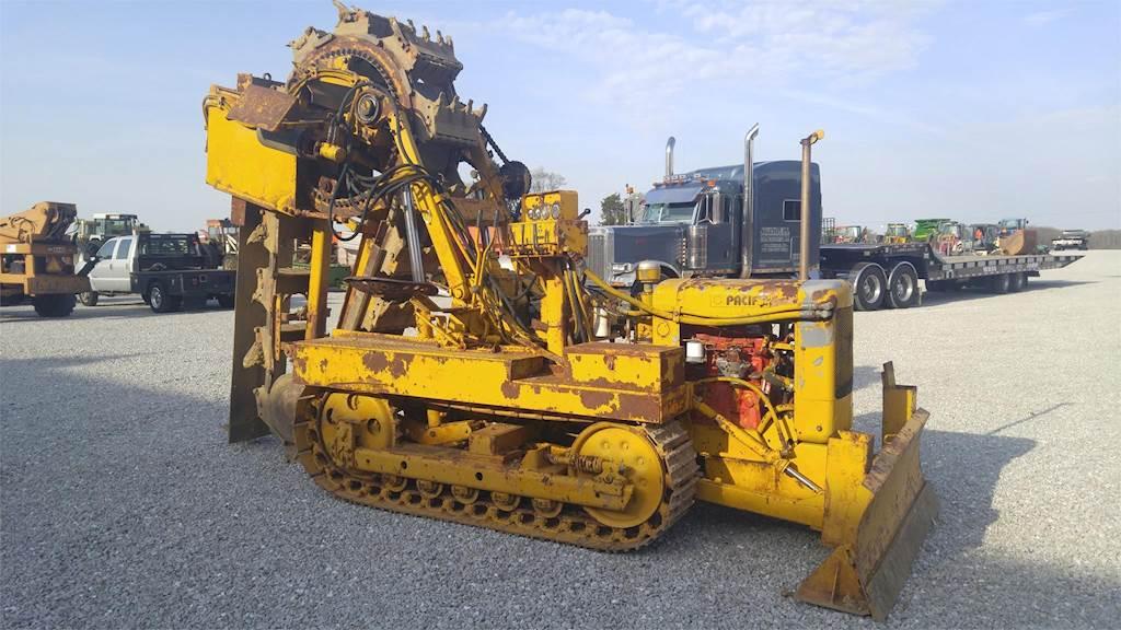 Machine plow