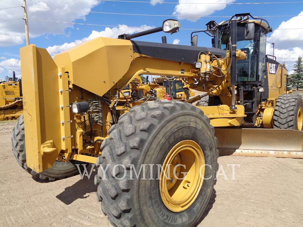 2007 Caterpillar 16m Motor Grader For Sale 3 800 Hours