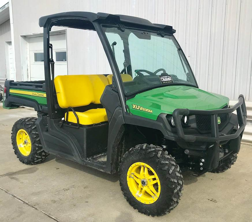 John Deere Gators >> 2018 John Deere Gator Xuv 835m Utility Vehicle For Sale 218 Hours Elkader Ia 48313 Mylittlesalesman Com