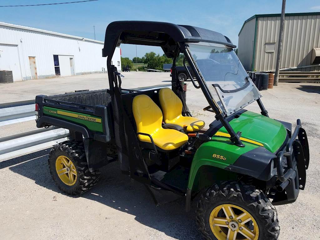 2014 john deere gator xuv 855d utility vehicle for sale, 1,878 hours