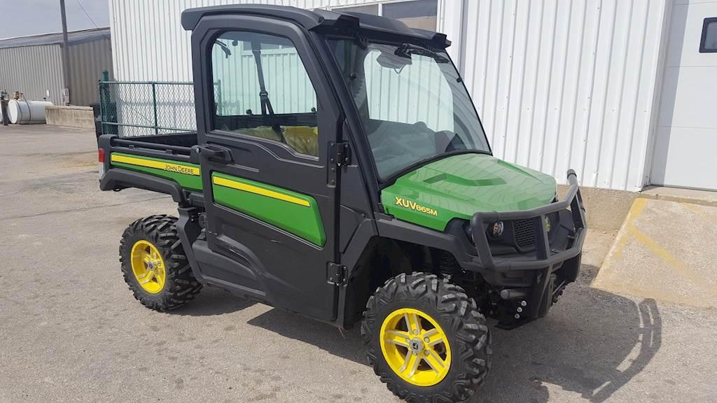 John Deere Gators >> 2018 John Deere Gator Xuv 865m Utility Vehicle For Sale 71 Hours Oelwein Ia 45339 Mylittlesalesman Com