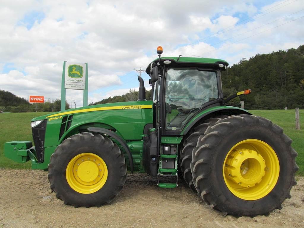 John Deere For Sale >> 2017 John Deere 8400r Tractor For Sale 505 Hours Elkader Ia