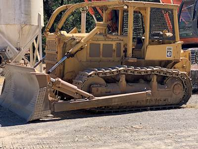 1968 Caterpillar D8H Forestry Dozer with Ripper For Sale