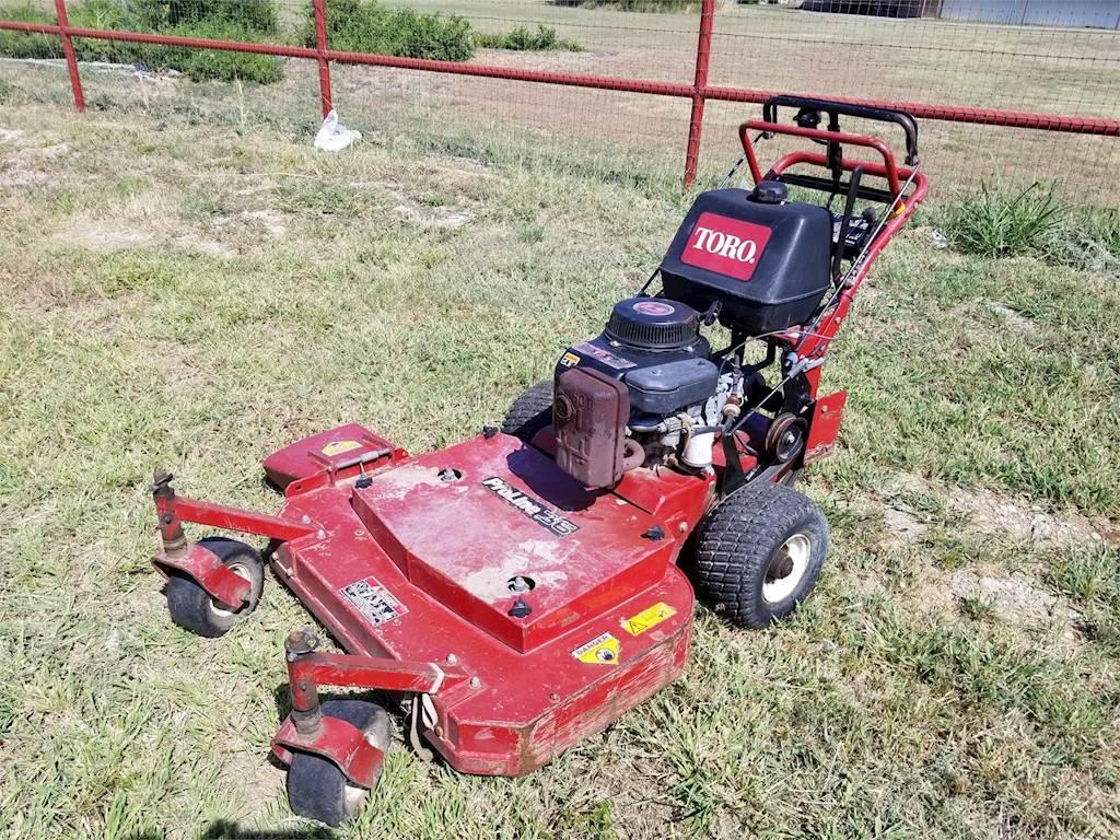 Toro TURBO FORCE 36 Lawn Mower