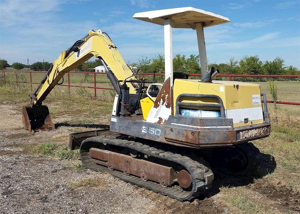 Mini Trucks For Sale Craigslist >> Yanmar B50-1 Mini Excavator For Sale, 3,482 Hours | Kemp, TX | 086B | MyLittleSalesman.com