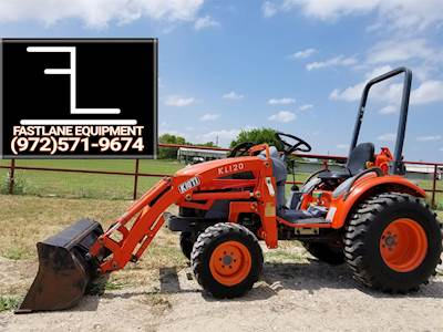 Used Kioti CK20HST Tractors Under 40 HP For Sale