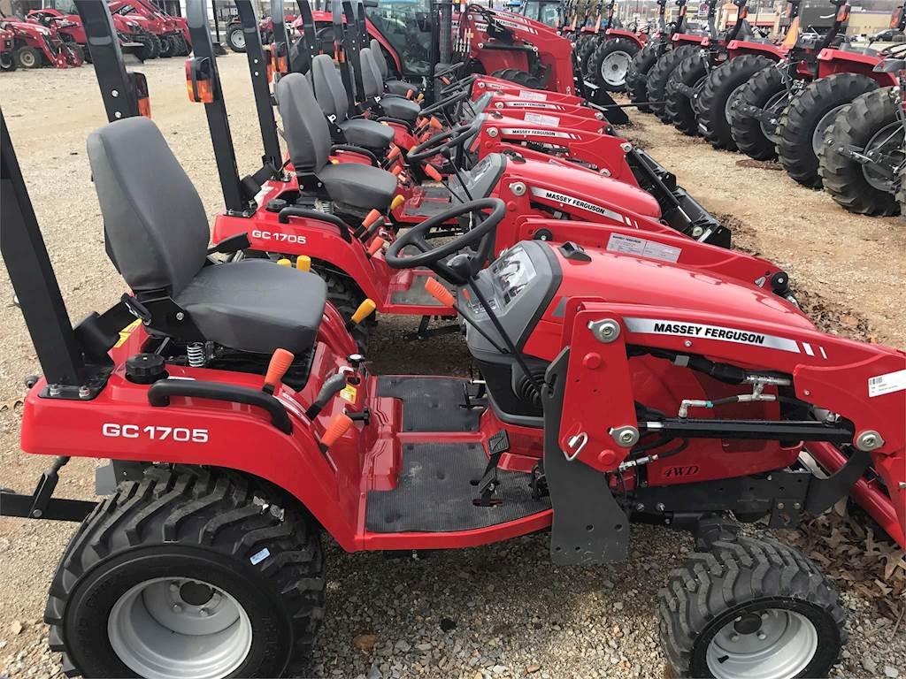 massey ferguson  2018 Massey Ferguson GC1705 Tractor For Sale | Athens, AL ...