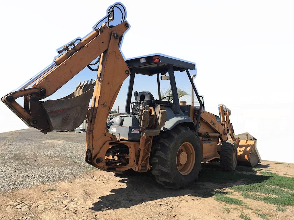 2000 Case 580L Series 2 Backhoe