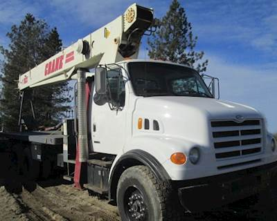 Crane Truck For Sale >> 1999 Sterling Crane Truck For Sale 40 350 Miles Spokane Valley