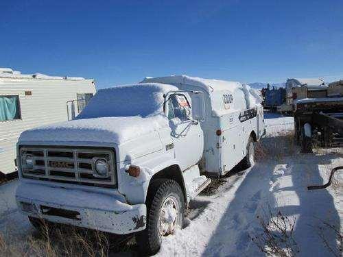 1975 gmc c6500 fuel lube truck for sale spokane valley. Black Bedroom Furniture Sets. Home Design Ideas