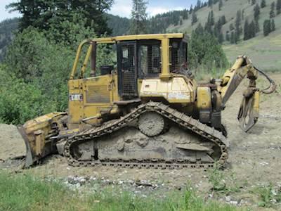1995 Caterpillar D5H Skidder