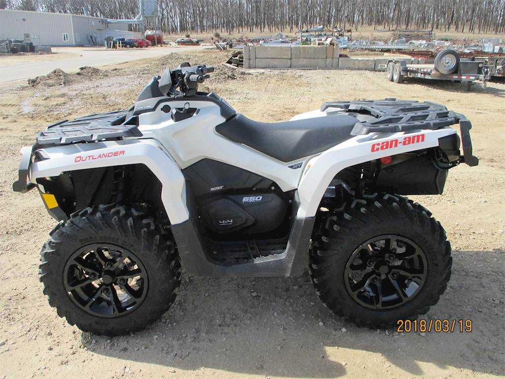 2017 Can Am >> 2017 Can Am Outlander 650 Xt Utility Vehicle